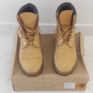 Timberland Boots Tan Size 11M Men